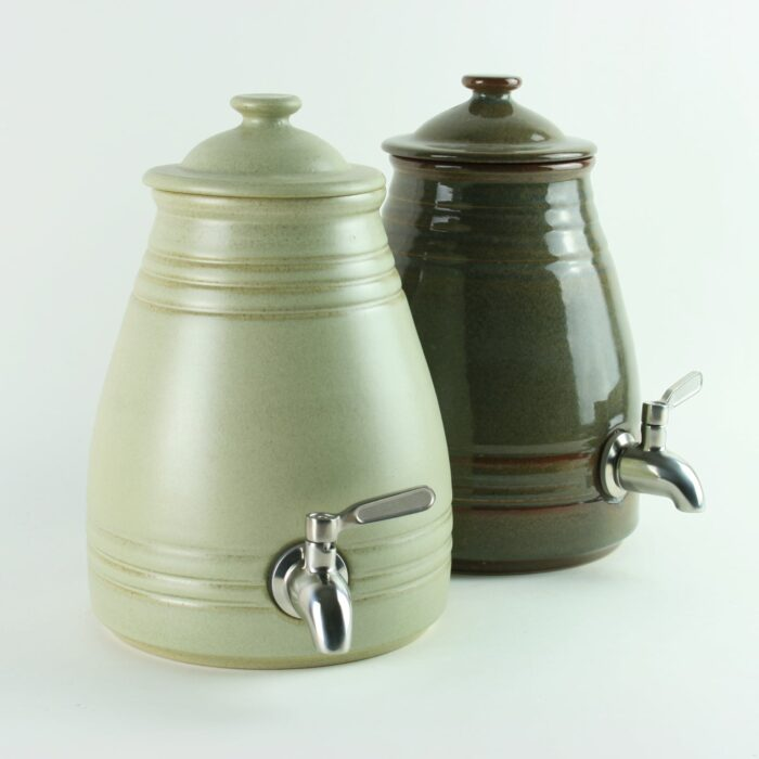 Hand Made 2 litre Ceramic Pot for Making Vinegar and Kombucha