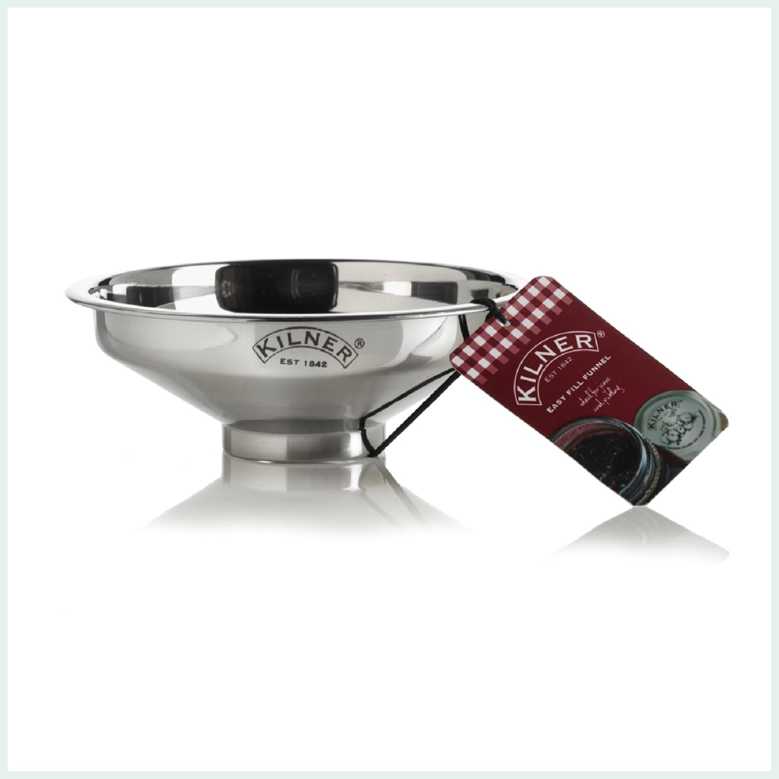 Kilner Stainless Steel Canning Jar Funnel for Jam Making and Canning