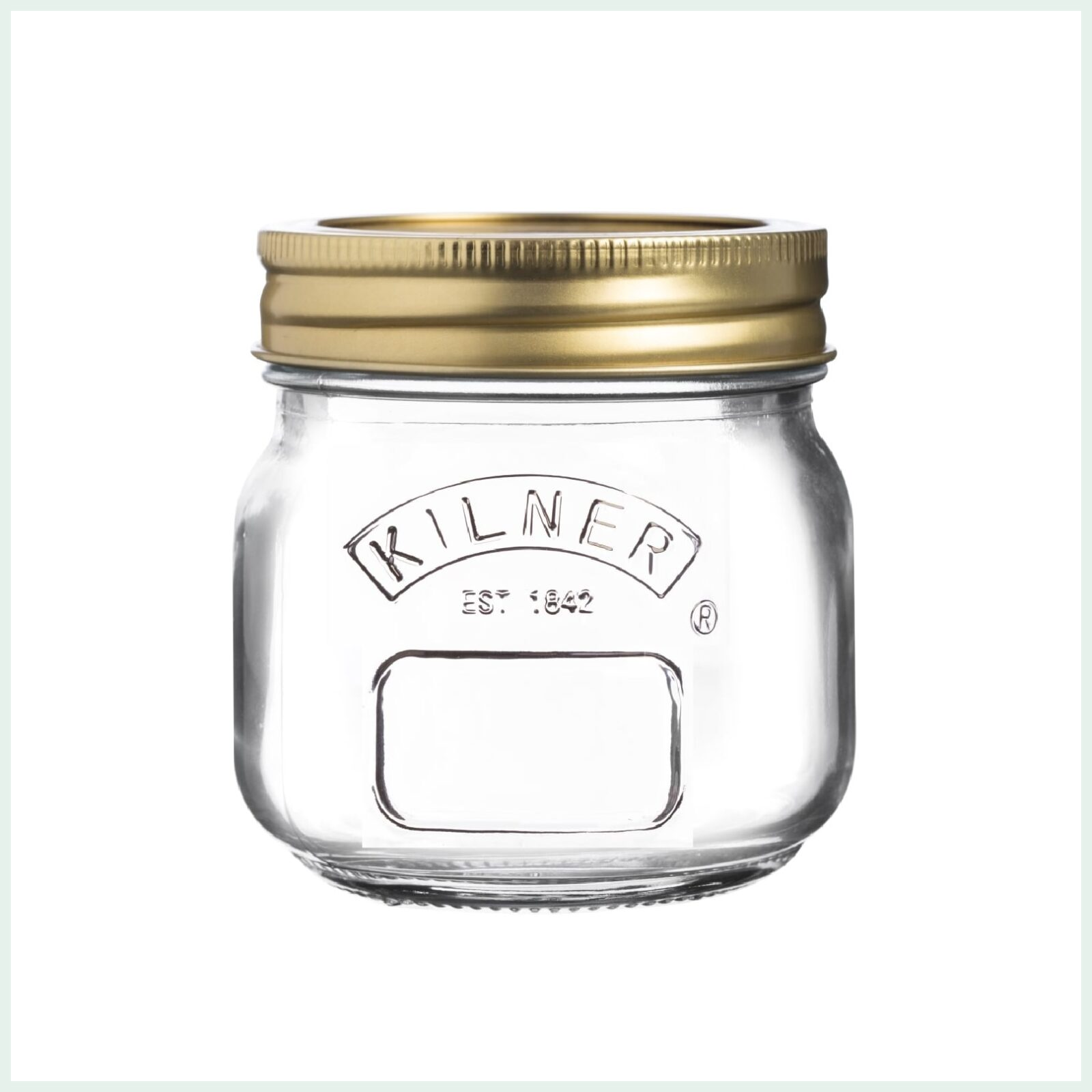 250ml kilner screw top jars for preserving, jam making and water bath canning