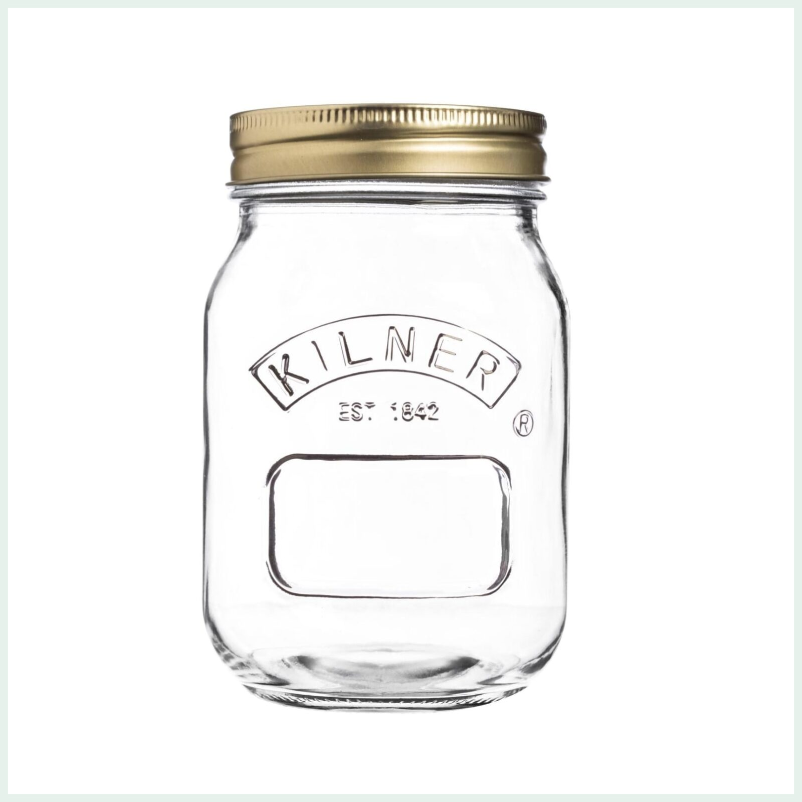 500ml kilner screw top jars for preserving, jam making and water bath canning