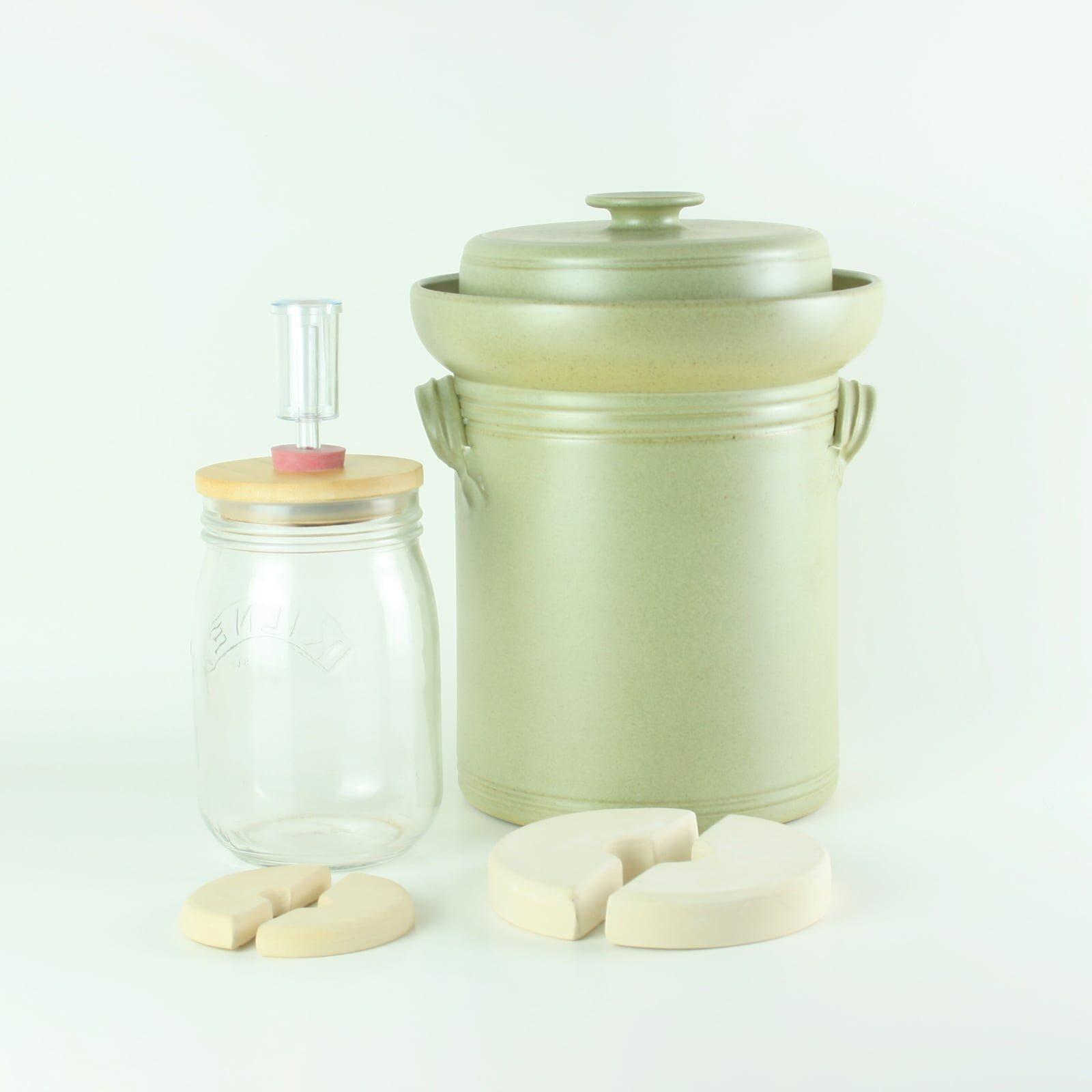 Making Kimchi and Sauerkraut