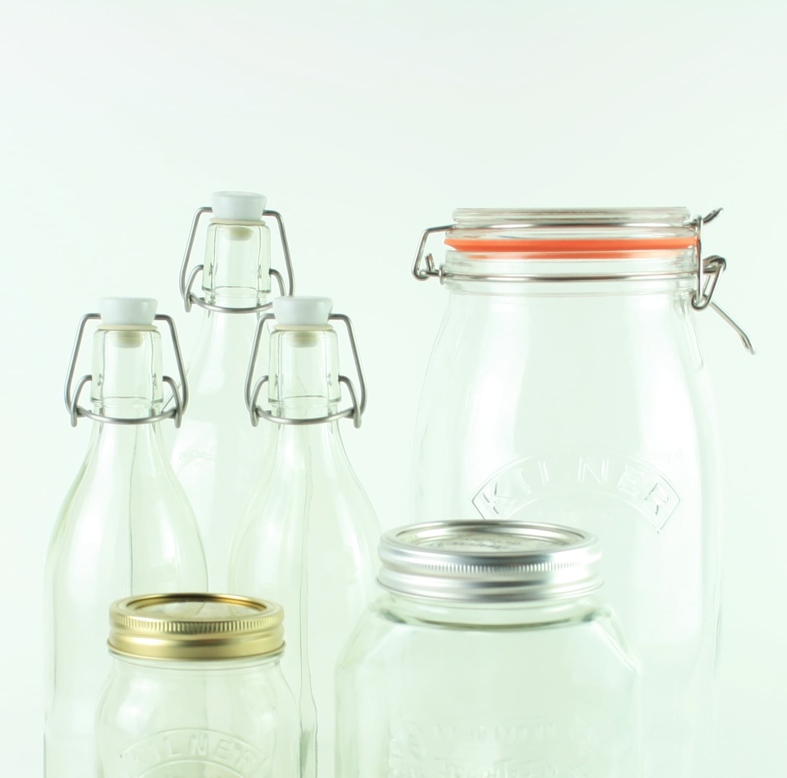 Preserve Jars, Bottles and Accessories