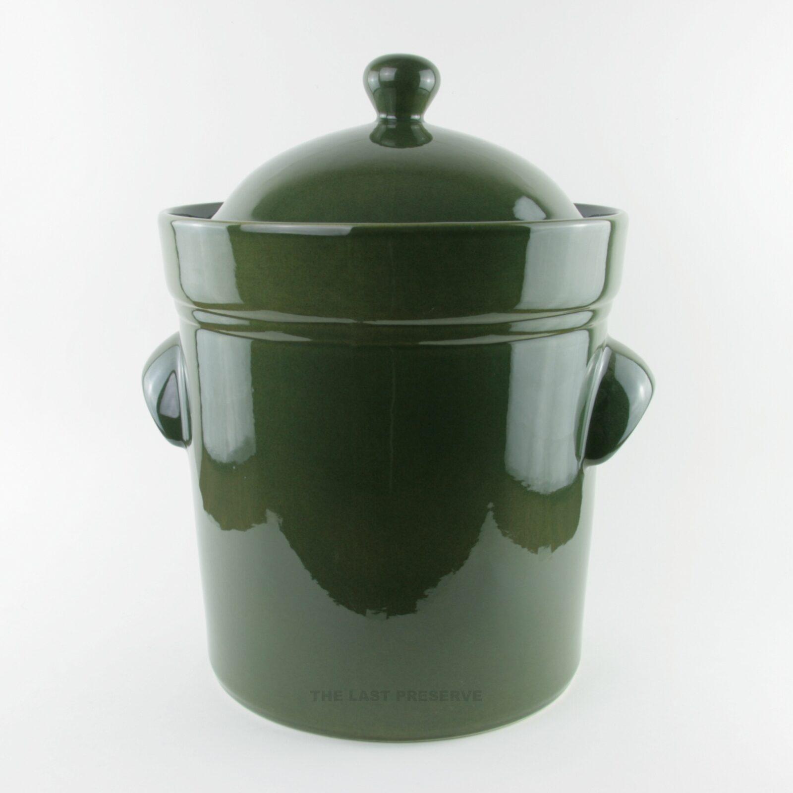 10 Litre ceramic fermentation crocks by Zaklady Ceramiczne Boleslawiec