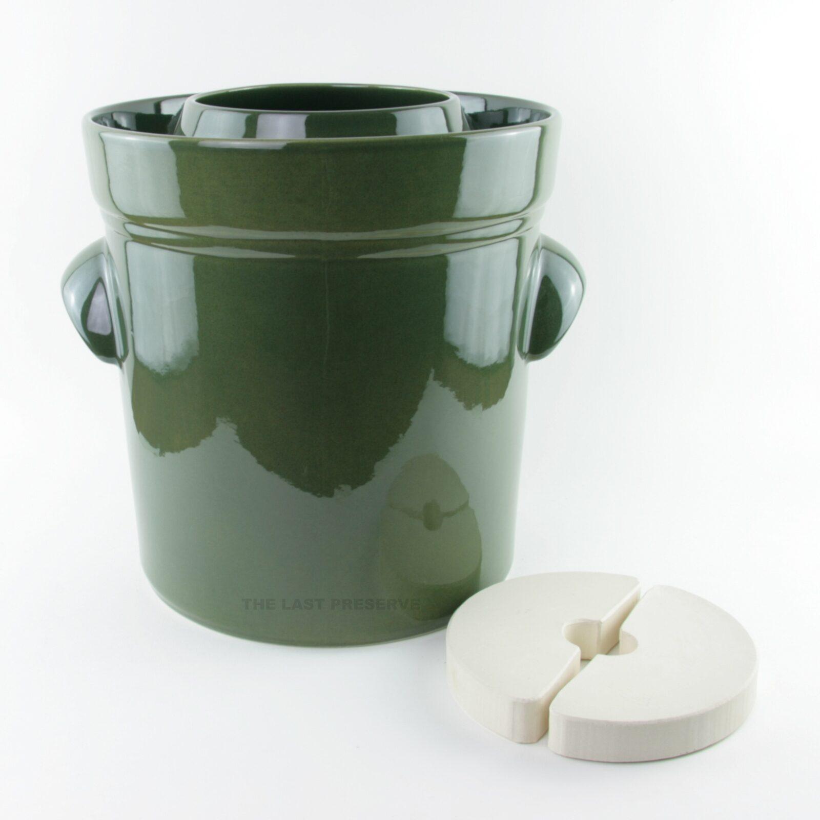 15 Litre ceramic fermentation crocks by Zaklady Ceramiczne Boleslawiec