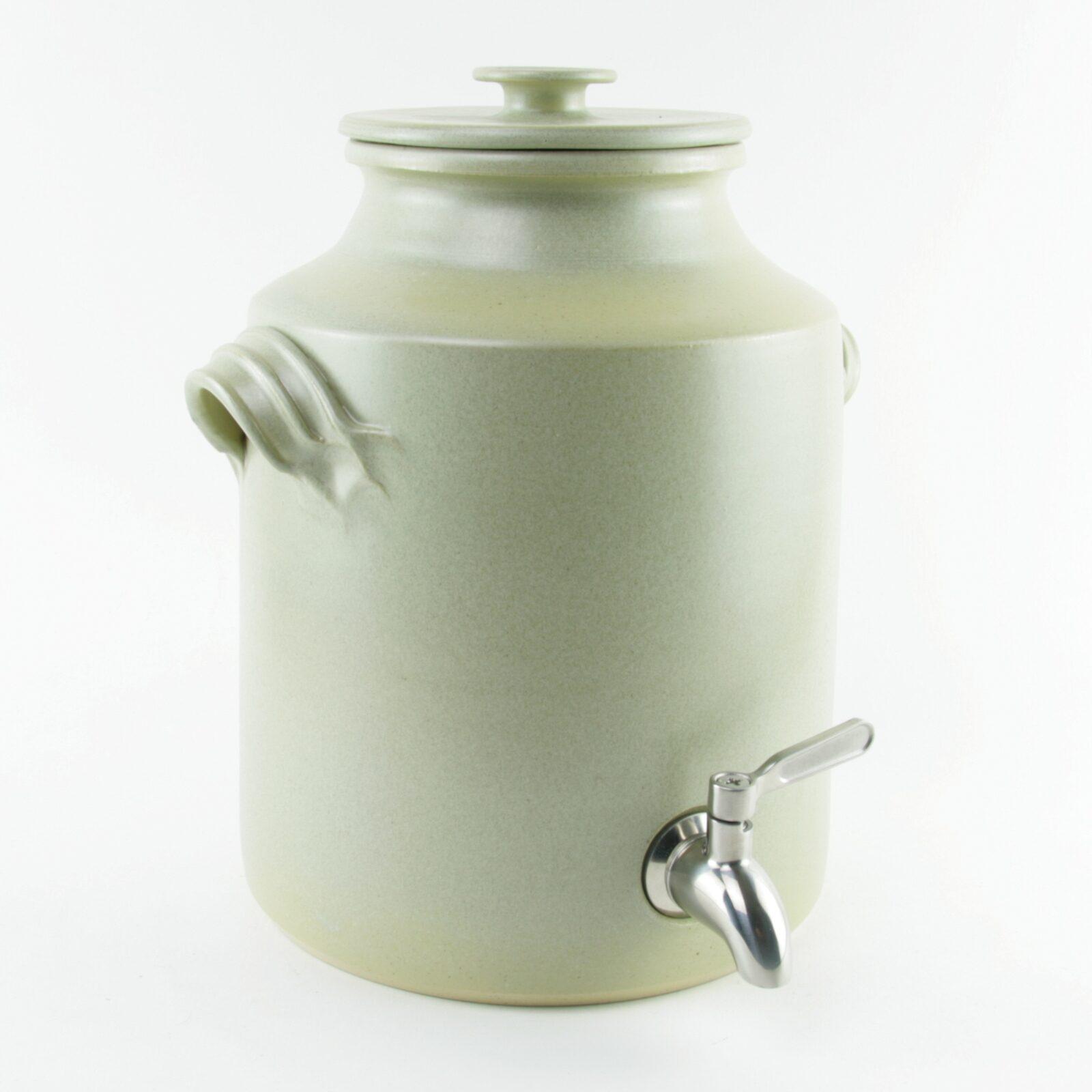 Large ceramic vinegar crock 4 litres