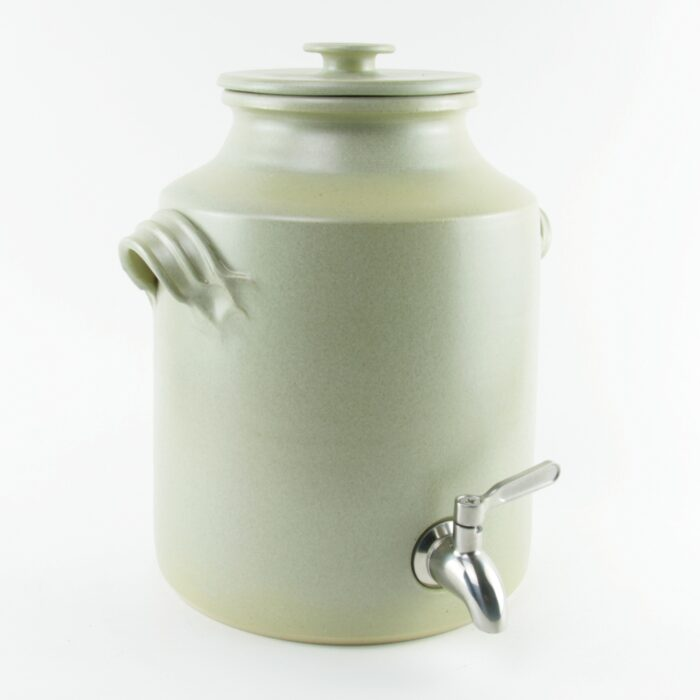 Large ceramic vinegar crock 4 litres